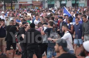 احتفالات مشجعي فرنسا تتحول إلى اشتباكات