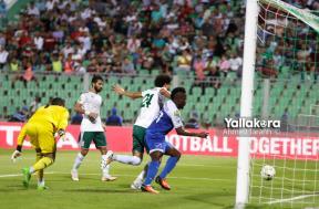 مباراة المصري والهلال السوداني