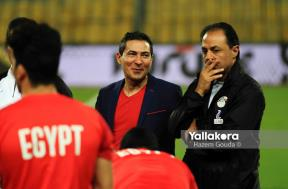 مران لاعبي منتخب مصر استعدادا لتصفيات أمم إفريقيا