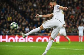 فرحة لاعبي ريال مدريد أمام جالطا سراي