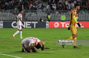 مباراة الزمالك ونصر حسين داي