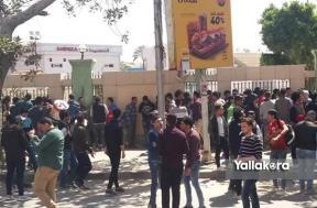زحام على تذاكر مباراة الأهلي وصنداونز بالإسكندرية
