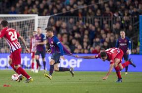 مباراة برشلونة وأتلتيكو مدريد