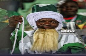 أجواء جماهير نيجيريا قبل مواجهة تونس