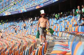 توافد جماهير الجزائر على مباراة السنغال