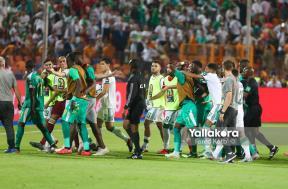 مشادة بين لاعبي الجزائر والسنغال