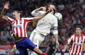 ديربي مدريد بين أتلتيكو والريال