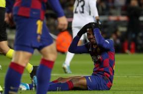 لقطات مباراة برشلونة وغرناطة