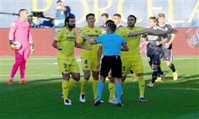 لقطات مباراة فياريال وريال مدريد