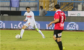 لقطات مباراة الزمالك ونادي مصر