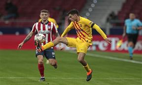 لقطات مباراة أتلتيكو مدريد وبرشلونة