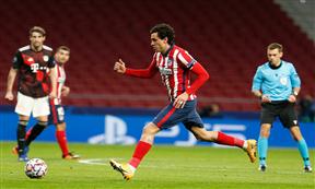 لقطات مباراة أتلتيكو مدريد وبايرن ميونيخ