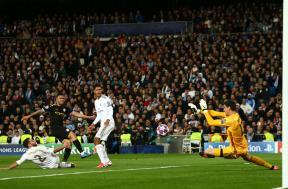 لقطات من مباراة ريال مدريد ومانشستر سيتي