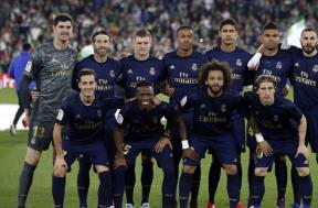 لقطات من مباراة ريال بيتيس وريال مدريد