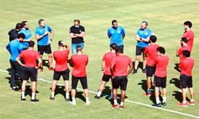 اول مران للاهلي بعد أزمة كورونا