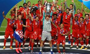 تتويج بايرن ميونيخ بطلا لدوري أبطال أوروبا