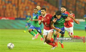 لقطات مباراة الأهلي ومصر للمقاصة
