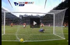 أهداف مباراة مانشستر يونايتد وولفرهامبتون