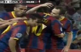 أهداف مباراة برشلونة وباناثينايكوس