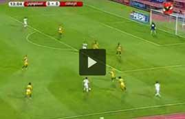 اهداف مباراة الزمالك والمقاولون العرب