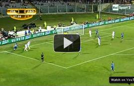 أهداف مباراة ايطاليا وايسلندا