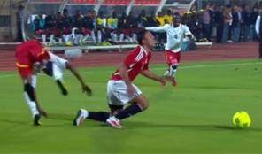 روح قتالية من لاعبي مصر أمام غانا