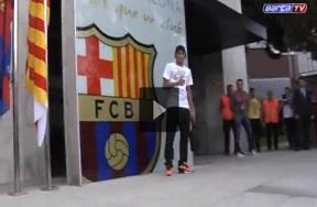 نيمار يصل برشلونة