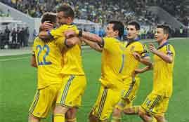 هدف فوز أوكرانيا فى مقدونيا