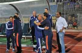 غضب محمد صلاح في لقاء دجلة