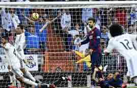 مينى ماتش لمباراة ريال مدريد وبرشلونة