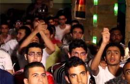 انفعالات جماهير ريال مدريد فى القاهرة
