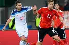 هدف النمسا فى روسيا