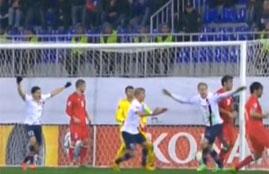 هدف فوز النرويج فى إذربيجان