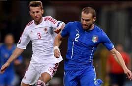 هدف فوز إيطاليا فى البانيا