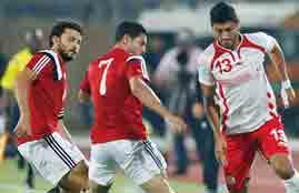 أهداف مباراة تونس ومصر