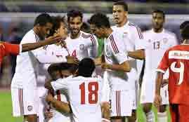 هدف الإمارات في عمان