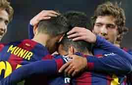 أهداف مباراة برشلونة وهويسكا