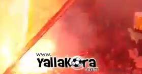 شماريخ جماهير الأهلى بمباراة السوبر بكاميرا يالاكو