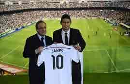 ريال مدريد يقدم جيمس روديجز