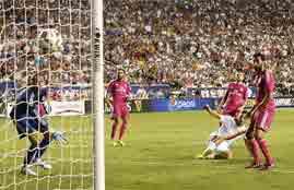 هدف روما في ريال مدريد