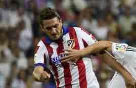 تسديدة قوية لكوكى امام ريال مدريد