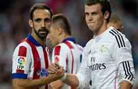 فرصة هدف ضائعة لأتلتيكو أمام ريال مدريد