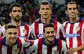 تسديدة لوب لاتلتيكو امام ريال مدريد