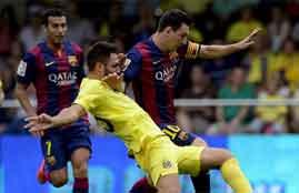 هدف فوز برشلونة فى فياريال