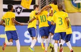 هدف فوز البرازيل فى الإكوادور
