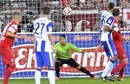 أهداف مباراة فرايبورج وهيرتا برلين