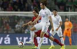 هدف فوز أمريكا فى التشيك