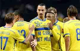 هدفا السويد فى إستونيا
