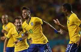 هدف فوز البرازيل فى كولومبيا