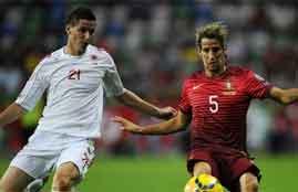 هدف فوز البانيا فى البرتغال